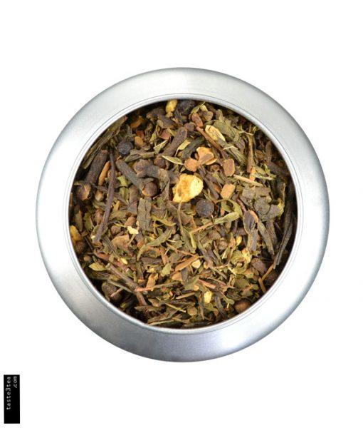Πράσινο τσάι με μπαχαρικά και μέντα