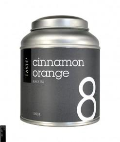 Μαύρο Τσάι με κανέλα και πορτοκάλι