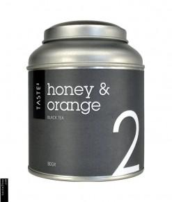 Μαύρο Τσαί με πορτοκάλι και μέλι