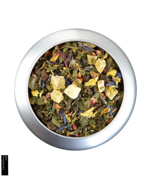 Βοτανικό Τσάι με μπλέ τσάι Pu Erh & πράσινο τσάι Mate