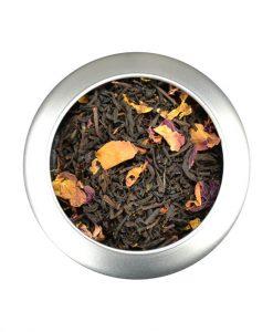 Μαύρο τσάι με τριαντάφυλλο